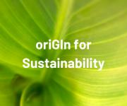 thumb oriGInForSustainability
